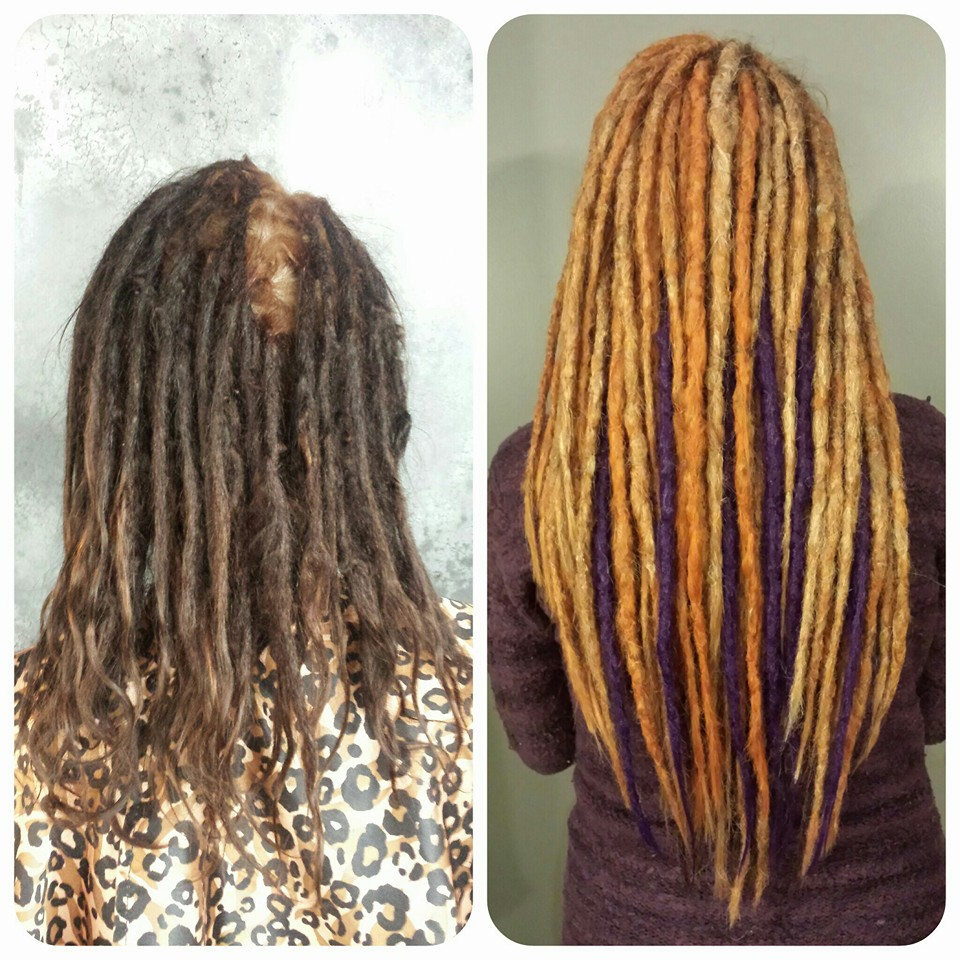 Dreadlock Extension Hair Human 121